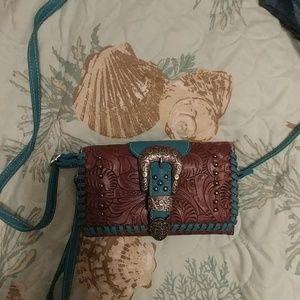 Western style wallet bag